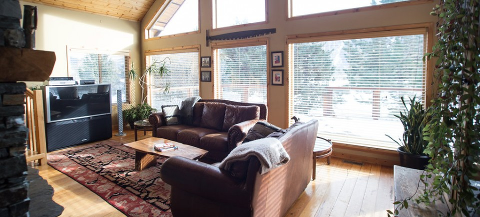 Living Room - Fantastic Mt Currie Views